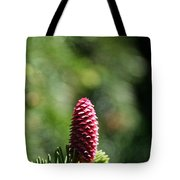 Pine Candle Tote Bag