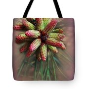 Pine Flower Bouquet Tote Bag