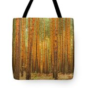 Pine Forest Tote Bag