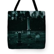 Pine Hill Cemetery Tote Bag