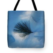 Pine In The Snow Tote Bag