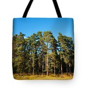 Pine Trees Of Valaam Island Tote Bag