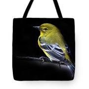 Pine Warbler Tote Bag