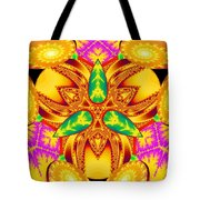 Pineal Flux Tote Bag by Derek Gedney