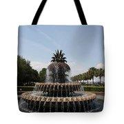 Pineapple Fountain Charleston Tote Bag
