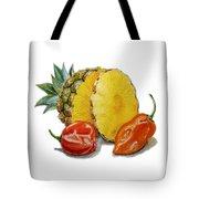 Pineapple Habanero Muy Caliente   Tote Bag