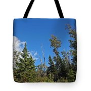 Pines In The Sky Tote Bag