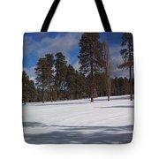 Pinetop Snowfall Tote Bag