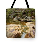 Piney Creek In Southern Illinois Tote Bag