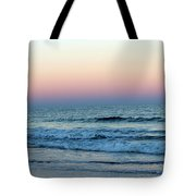 Pink And Blue Sky Tote Bag