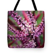 Pink And Cream Cluster Bloom Tote Bag