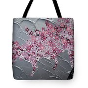 Pink And White Cherry Blossom Tote Bag