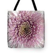 Pink And White Chrysanthemum Tote Bag