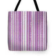 Pink And White Paper Tote Bag