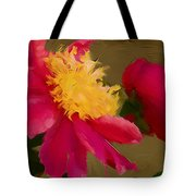 Pink And Yellow Au Deux Tote Bag
