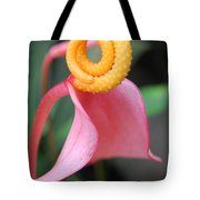 Pink And Yellow Orchids 2 Tote Bag