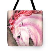 Pink Andalusian Tote Bag