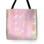 Pink Angel Softly Passing Tote Bag