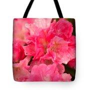 Pink Azalias Tote Bag