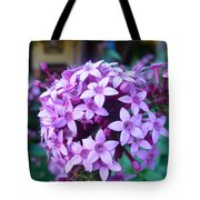 Pink Ball Flower I Tote Bag