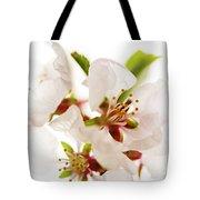 Pink Blossom Tote Bag by Elena Elisseeva