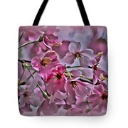 Pink Blossoms - Paint Tote Bag
