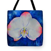 Pink Blush Orchid Tote Bag