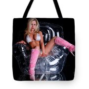 Pink Boots Tote Bag