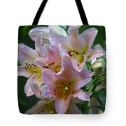 Pink Bridal Bouquet Tote Bag
