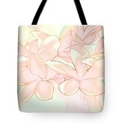 Pink Bunch Tote Bag