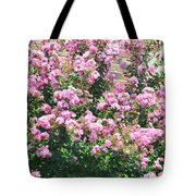 Pink Bush Tote Bag