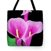 Pink Calla Lillies 2 Tote Bag