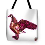 Pink Canada Goose Pop Art - 7585 - Wb Tote Bag