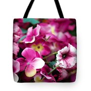 Pink Canvas Flora Tote Bag