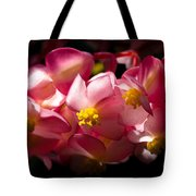Pink Cascade Tote Bag
