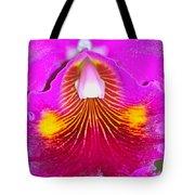 Pink Cattelaya Orchid Tote Bag
