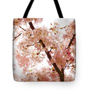Pink Cherry Blossoms - Impressions Of Spring Tote Bag
