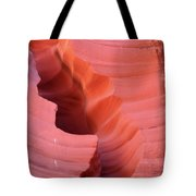 Pink Cleft II - Antelope Canyon Tote Bag