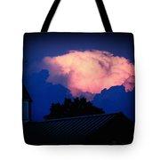 Pink Cloud Over Lexington Tote Bag