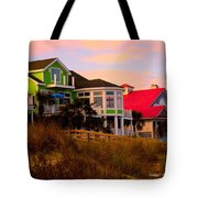 Pink Clouds At Isle Of Palms Tote Bag