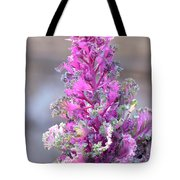 Pink Coned Cabbage Tote Bag