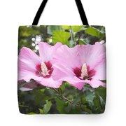 Pink Couple Tote Bag