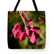 Pink Curls - Flower Macro Tote Bag