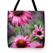 Pink Daisies Tote Bag