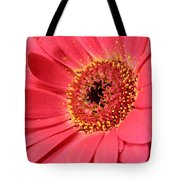 Pink Daisy Tote Bag