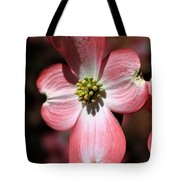 The Cross Of Christ Pink Dogwood At Easter 7 Tote Bag