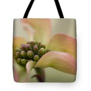 Pink Dogwood Macro Tote Bag