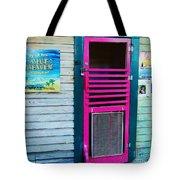 Pink Door Tote Bag