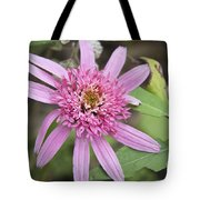 Pink Double Delight Echinacea Tote Bag