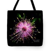 Pink Fireworks  Tote Bag